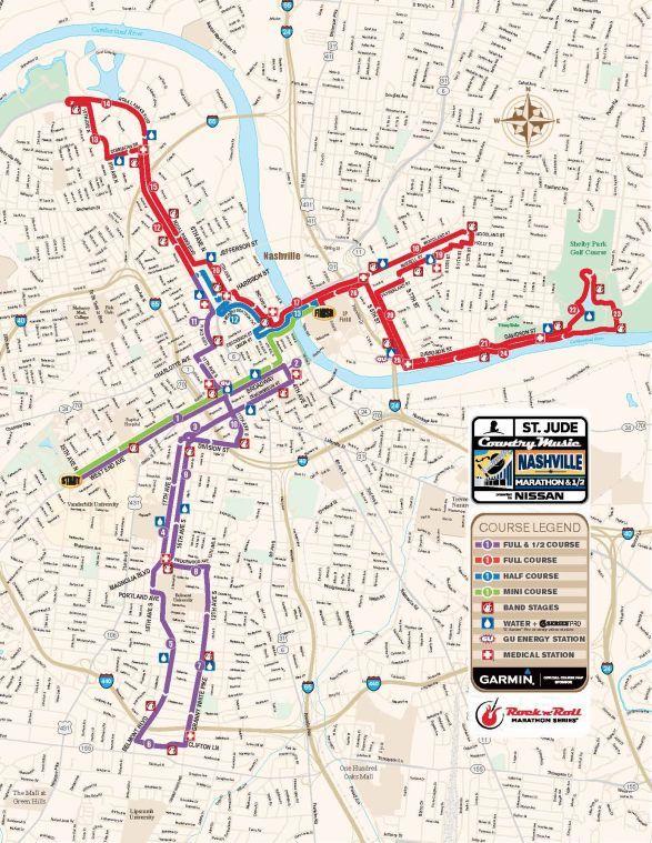 Nashville Country Music Marathon Amp 12 Marathon Race
