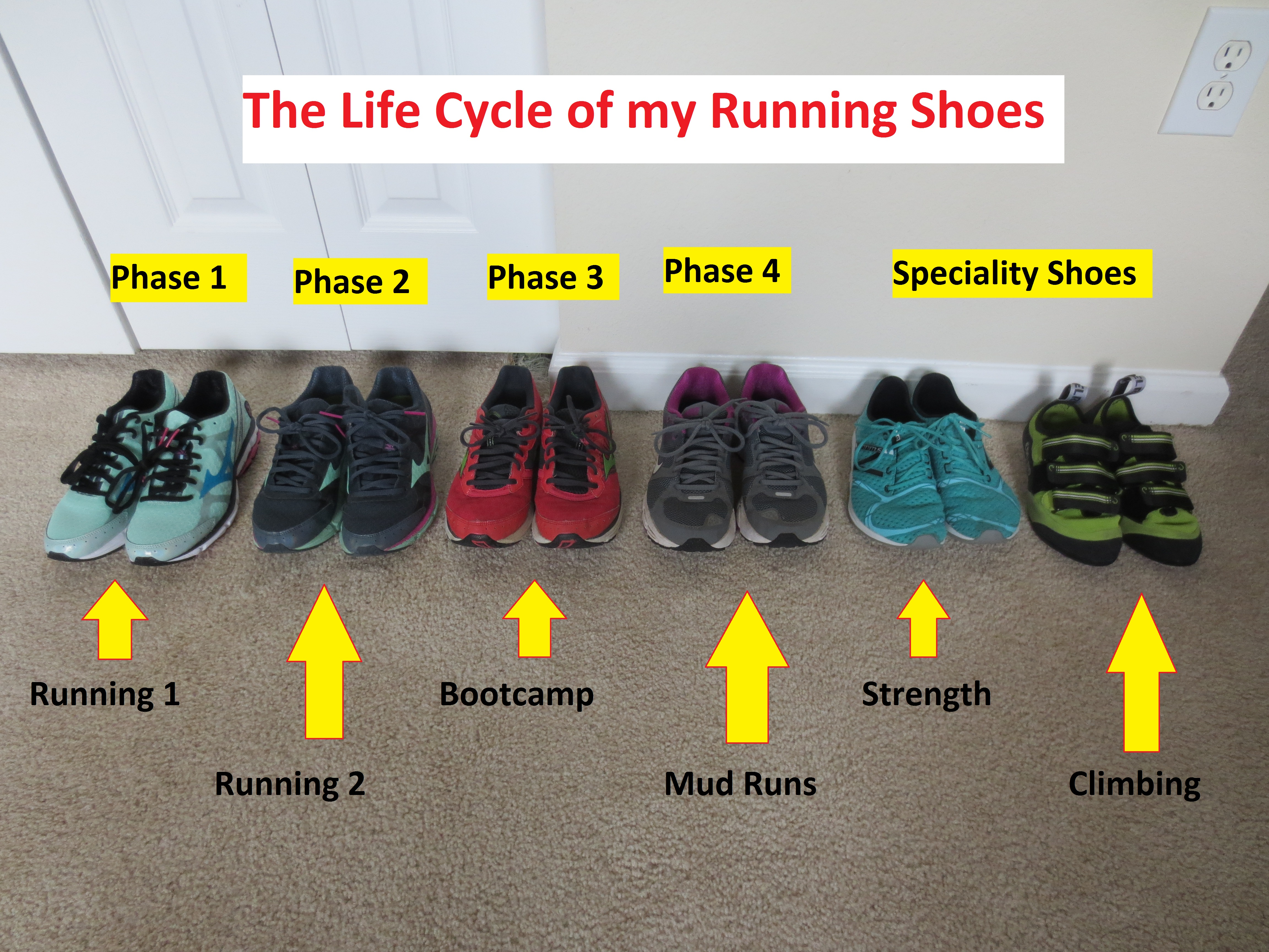 The Life Cycle of my Running Shoes (KELLY) | D.I.Y